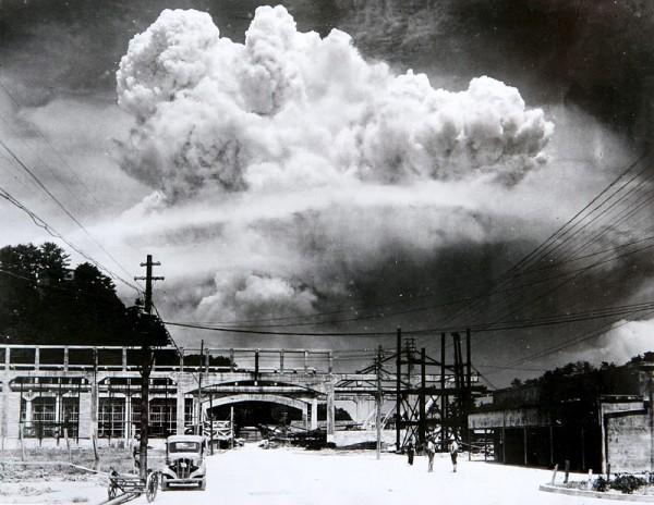 Nagasaki, kort na de aanval