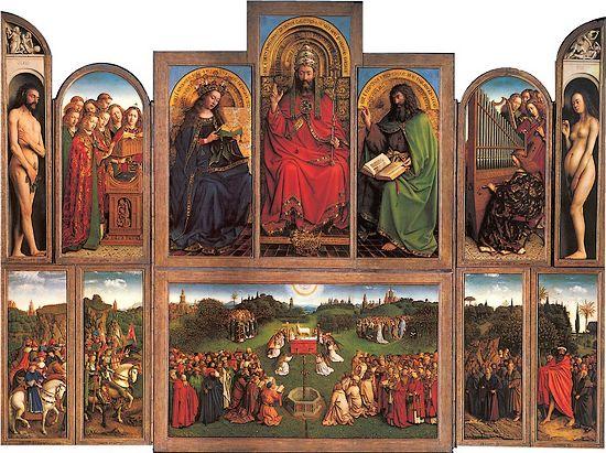 Het Lam Gods (Jan Van Eyck)