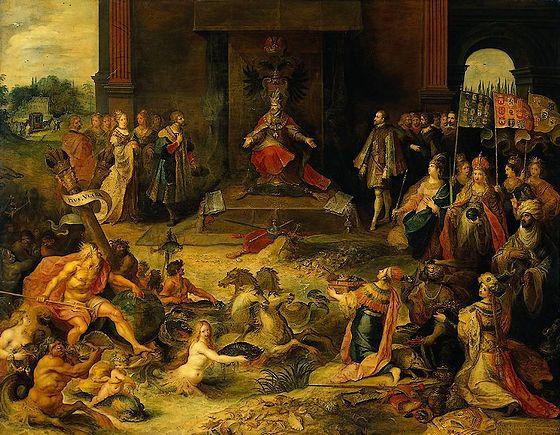 25 oktober 1555 - Karel V treedt af als heer der Nederlanden