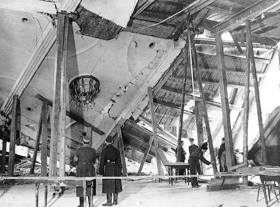 8 november 1939 - Aanslag op Hitler in de Bürgerbräukeller