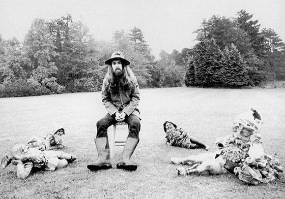 29 november 2001 - Sterfdag van George Harrison