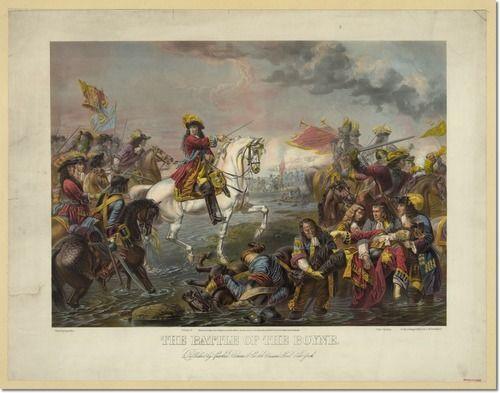 12 juli 1690 - Willem III wint de slag aan de Boyne