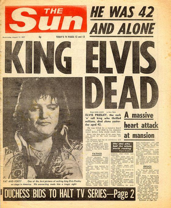 Sterfdag van Elvis Presley (1977)