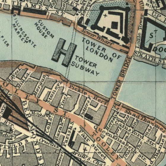 2 augustus 1870 - Opening van de Tower Subway in Londen