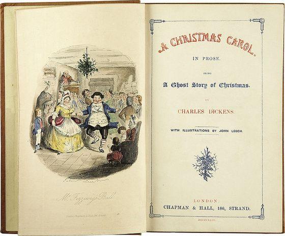 19 december 1843 - 'A Christmas Carol' van Charles Dickens verschijnt