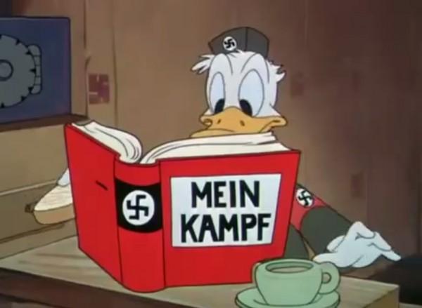Donald Duck als nazi