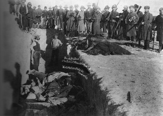 29 december 1890 - Slag bij Wounded Knee