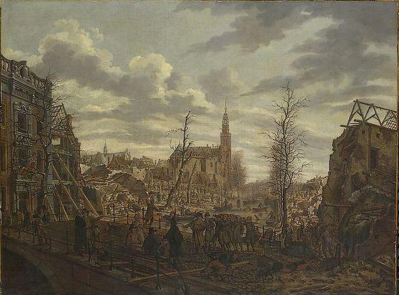 12 januari 1807 - Leidse buskruitramp