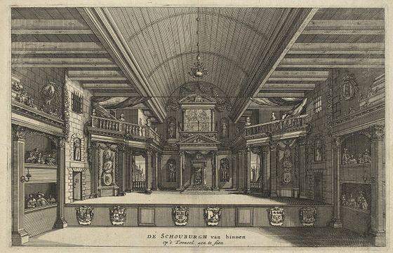 3 januari 1638 - Opening van de schouwburg Van Campen