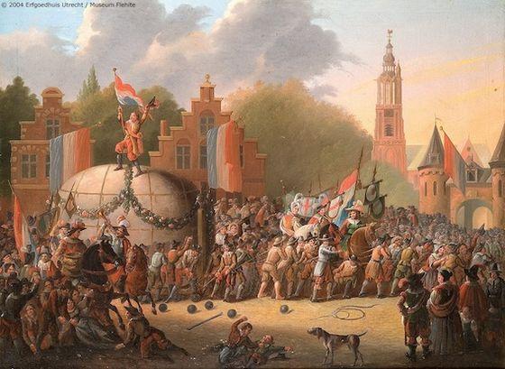 7 juni 1661 - De Amersfoorters verslepen hun Kei
