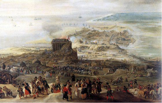 4 juli 1601 - Begin van het beleg van Oostende