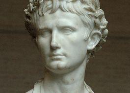 Buste van keizer Augustus