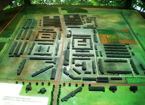 Model van Kamp Westerbork - Foto: CC