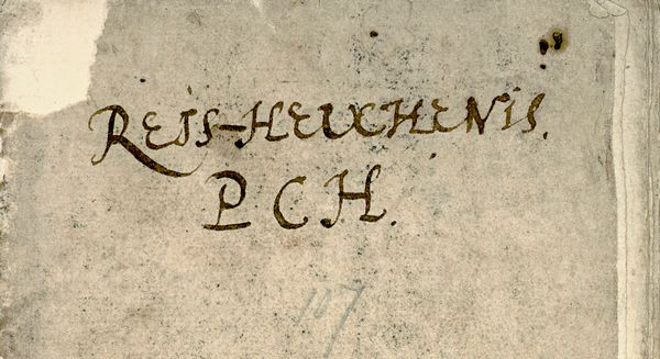 P.C. Hooft reist naar Rome, 1598-1600