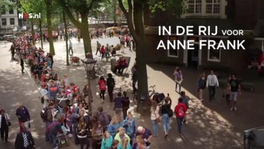 Terugkijken - 'In de rij voor Anne Frank'