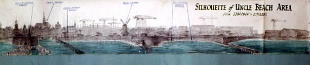 Deze afbeelding,  met daarop duidelijk herkenbaar de Oranjemolen,  is gebruikt in 1944 (muZEEum)