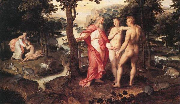 Jacob de Backer, Tuin van Eden