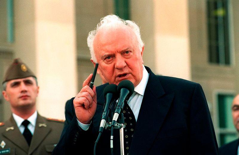 Edoeard Sjevardnadze in 2001 (cc Helene Stikkel)