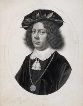 Portret van een jongeman afgestudeerd in Utrecht - Johannes Thopas, 1649 (Sothebys Amsterdam)