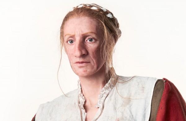 Reconstructie van de Alkmaarse vrouw (Erik Smits - Noord Holland)