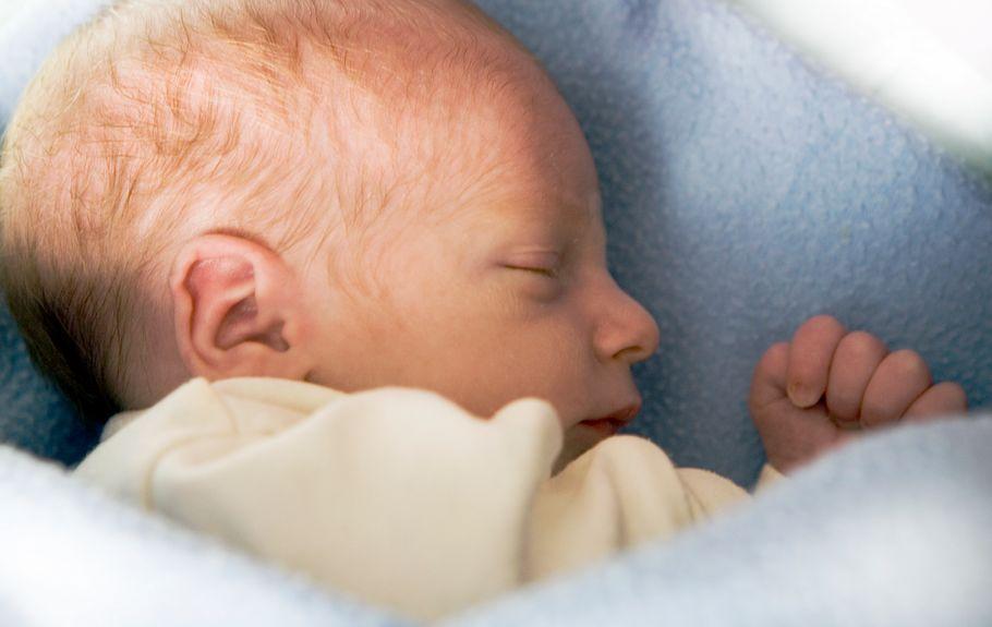 Pasgeboren baby (stck.xchng)
