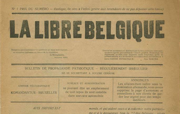 La Libre Belgique, 1915