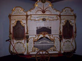 Draaiorgel uit de collectie van Museum Speelklok