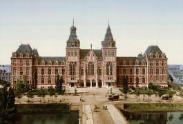 Rijksmuseum in 1895