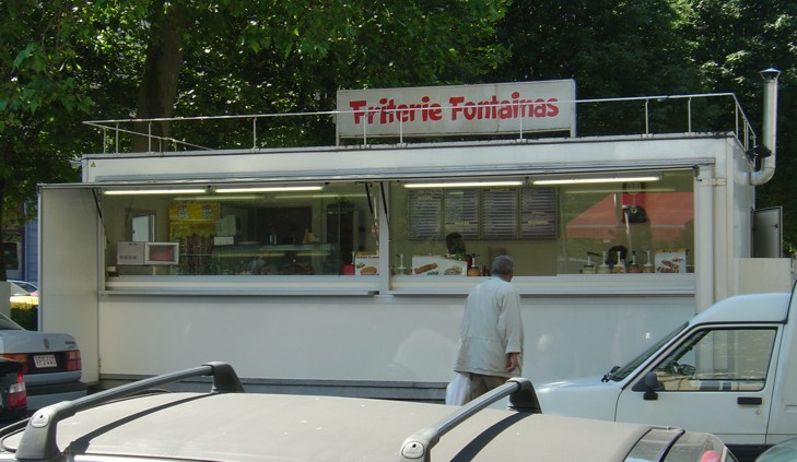 Frietkot in Brussel - cc