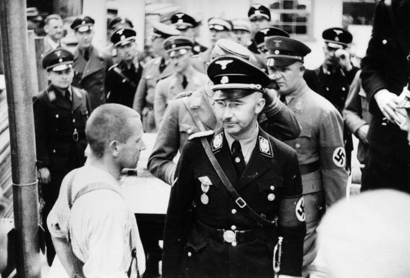 Koetjes en kalfjes van SS-leider Heinrich Himmler