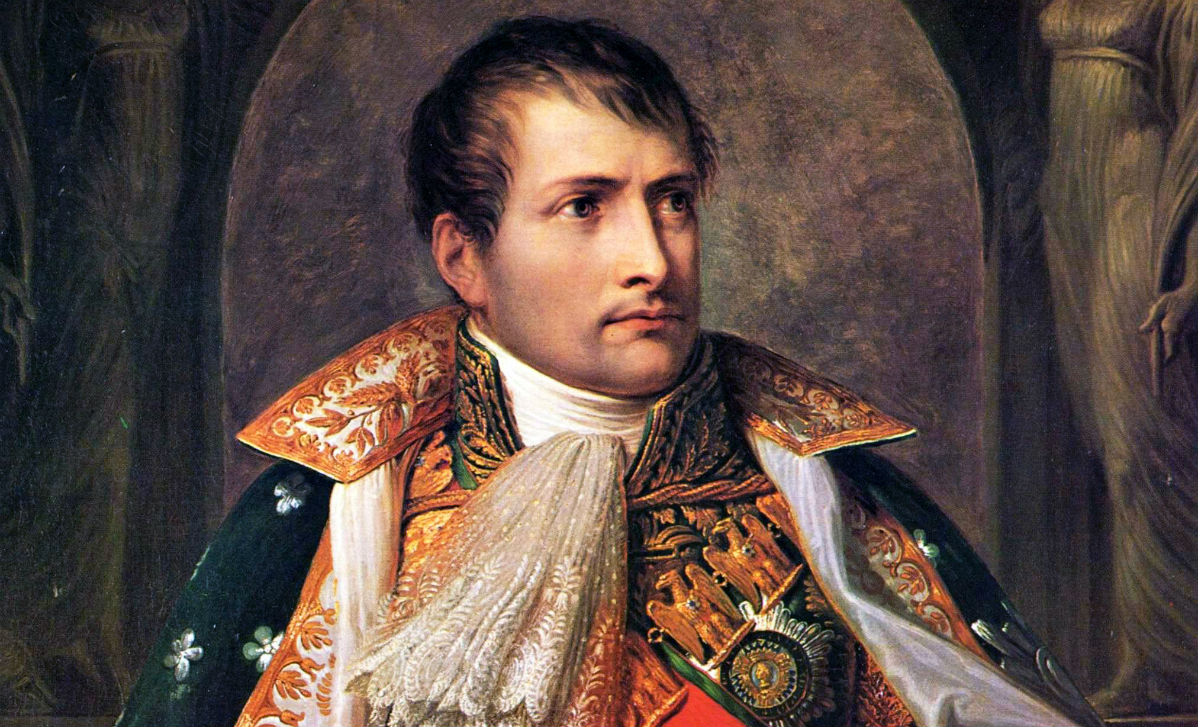 Napeleon als koning van Italië