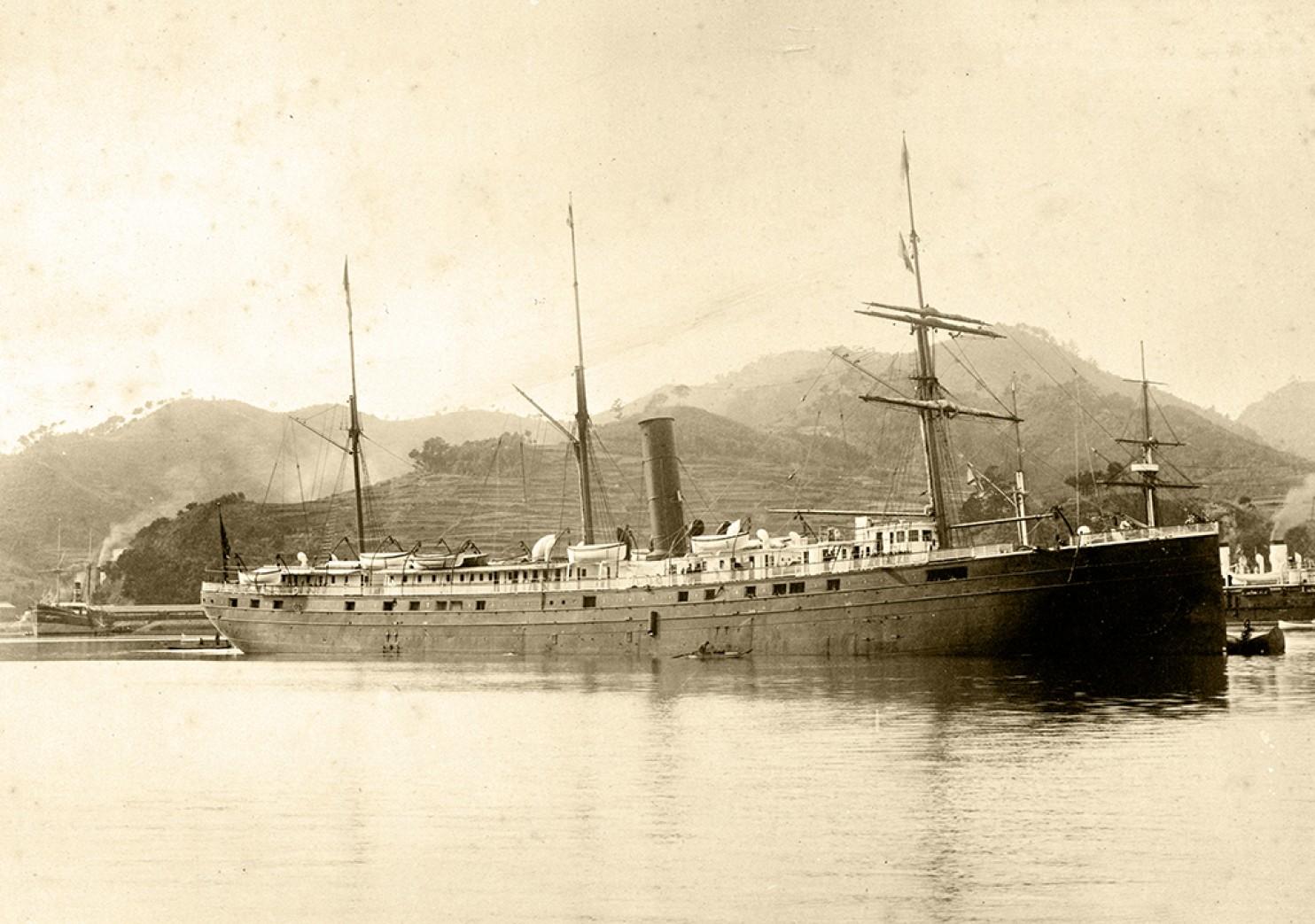 SS City of Rio de Janeiro (San Francisco Maritime National Historical Park, NOAA)