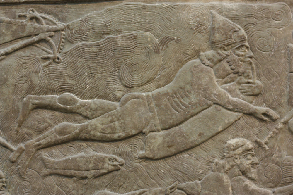 Assyrische kikvorsman (British Museum)