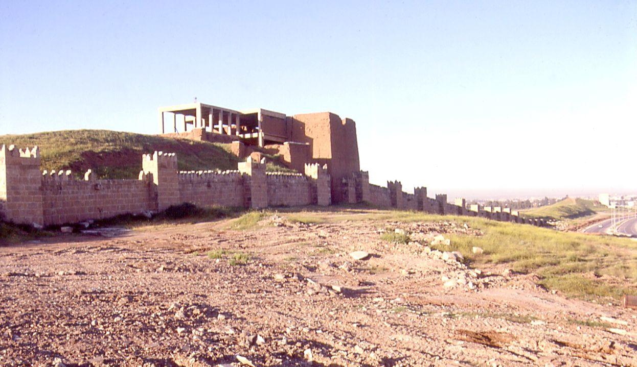 Oude muur van Nineve - cc