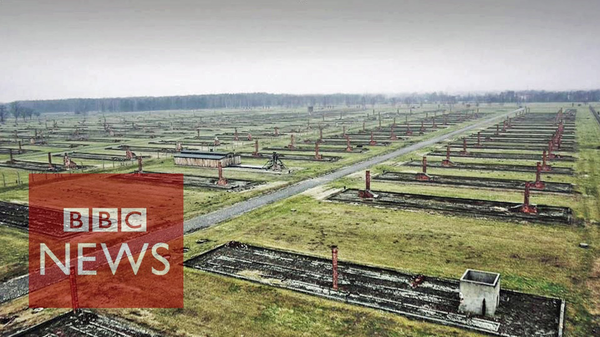 Drone-video toont omvang Auschwitz