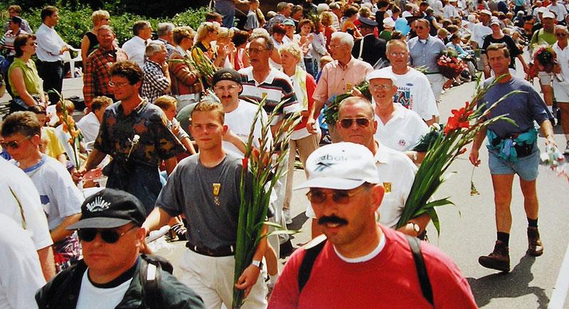 Intocht - 81ste Internationale Vierdaagse Afstandsmarsen Nijmegen (1997)