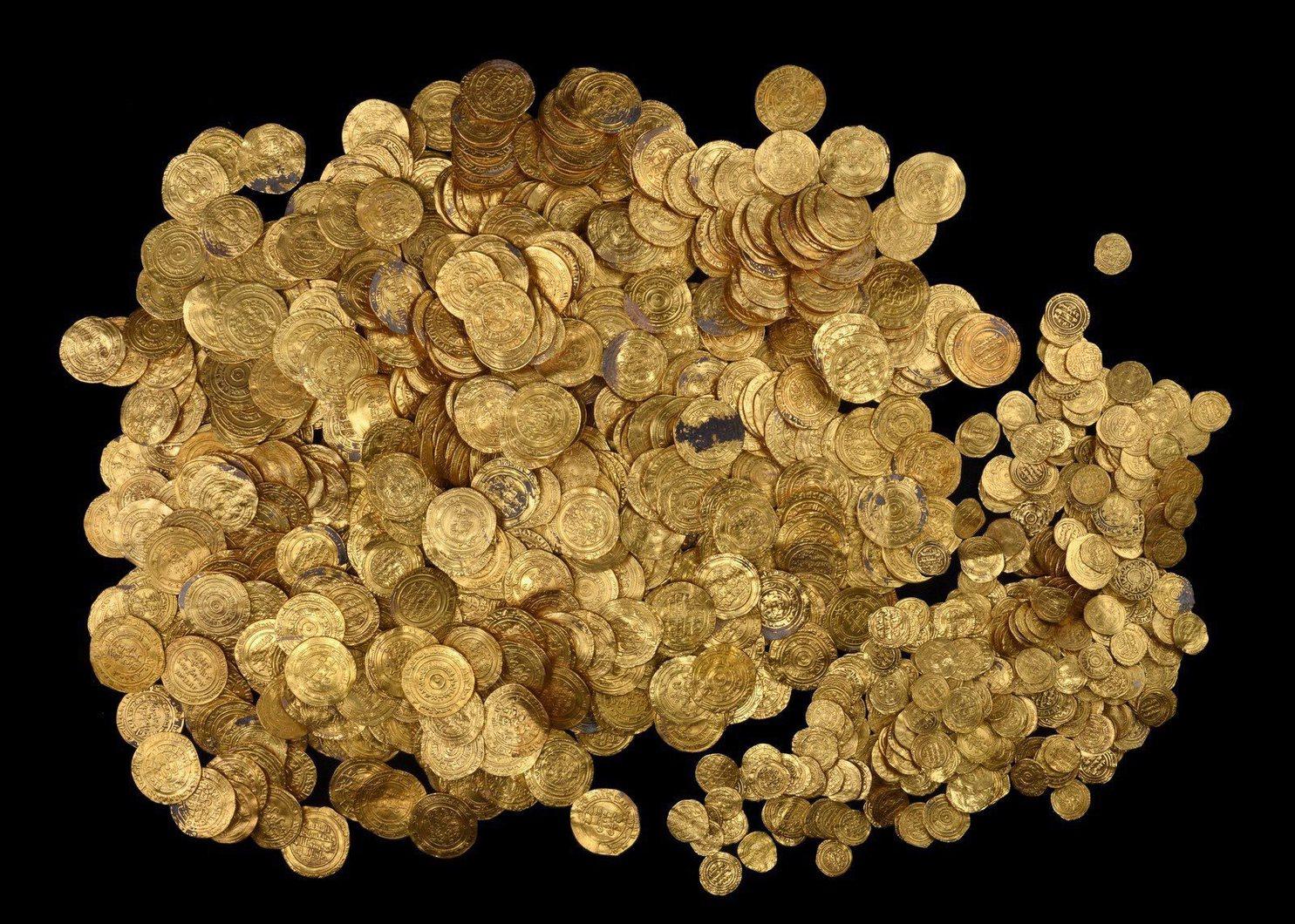 Enorme goudschat gevonden in Israël (IAA)