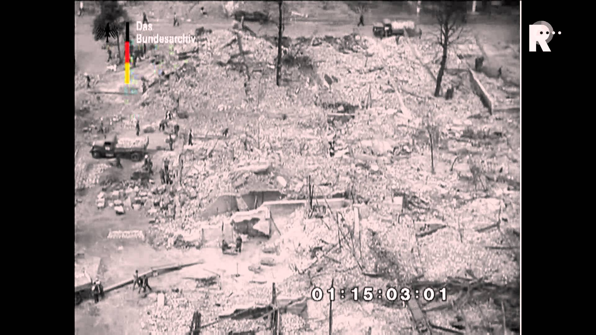 Onbekende beelden verwoesting Rotterdam en Middelburg opgedoken