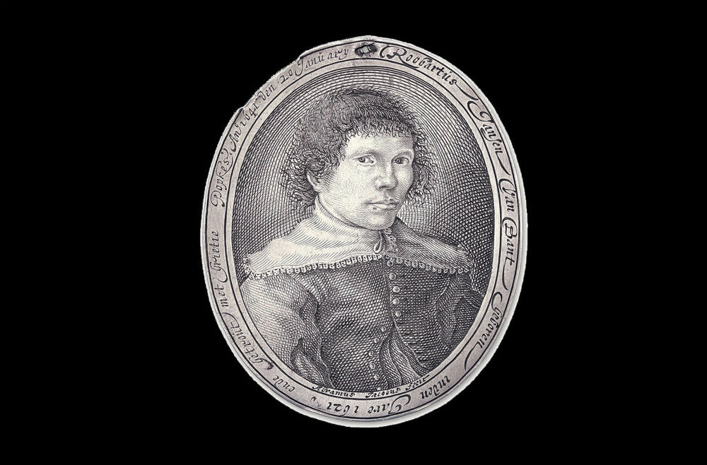 Portretmedaille van Robertus Jansen van Bant (Vereniging Rembrandt)