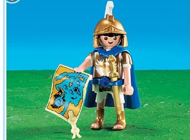Romeinse tribuun volgens Playmobil