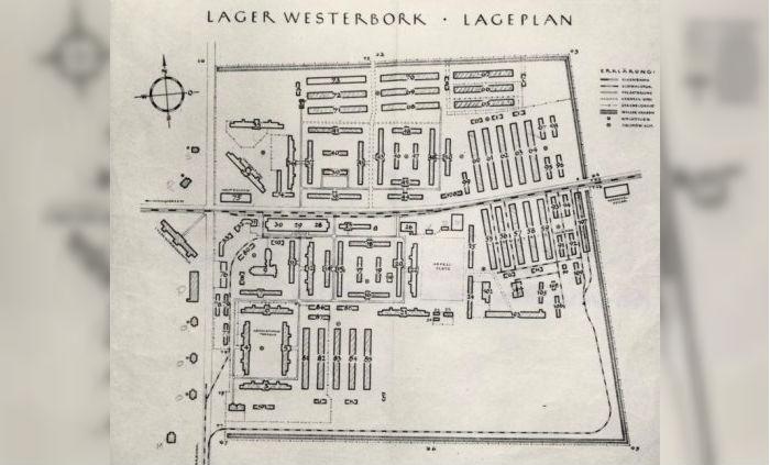 Plattegrond Westerbork