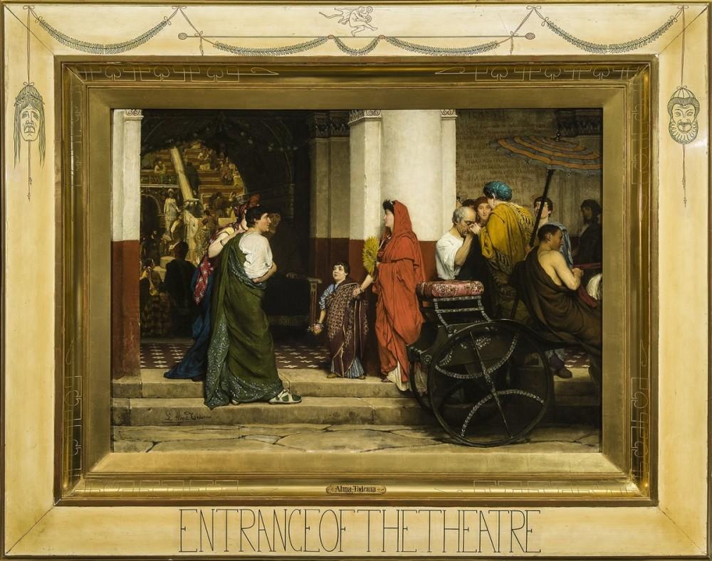 Topstuk van Lourens Alma-Tadema dat onlangs door het Fries Museum werd aangekocht
