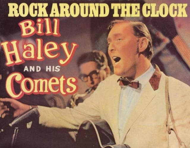 Poster van Bill Haley and His Comets. Bron: rock-ola.be