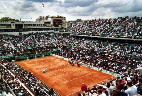 Centre court van Roland Garros