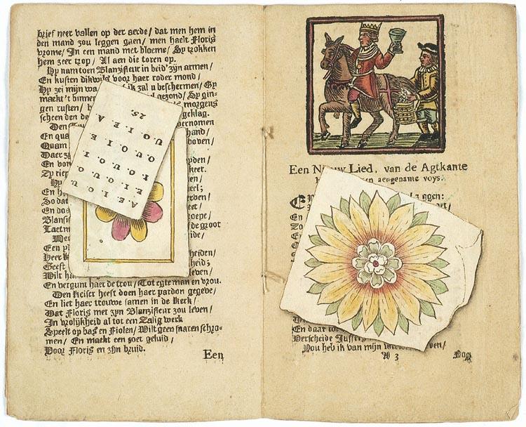 Schijnbedrieger en liedboekje, 1735 (KB)