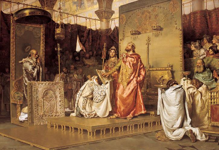 Bekering van Recaredo tot het rooms-katholicisme