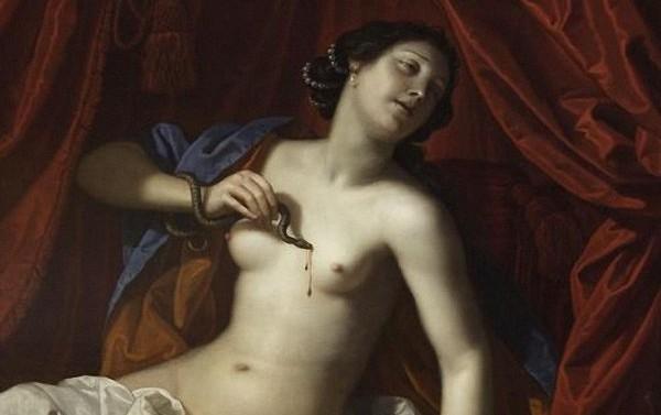 De dood van Cleopatra - Benedetto Gennari jr (1686)