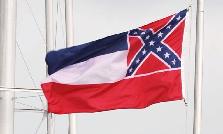 Vlag van Mississippi - cc