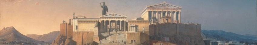 Athene-op-een-schilderij-van-Leo-von-Klenze-uit-1846