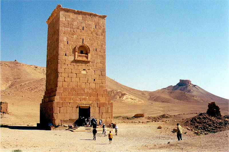 Graftoren in Palmyra - cc